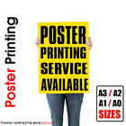 25 X A3 Full Colour Poster Print / Printing Service 150gsm / 250gsm