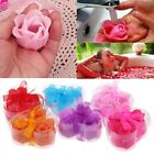 3pcs Bath Body Soap Rose Petal Flower Party Ball Wedding Gorgeous Decoration