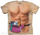 The Mountain T-Shirt Spring Break Muscle Bro Summer Survival Kit Adult Size