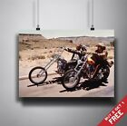 EASY RIDER 1969 Movie Poster A3 / A4 Billy & Wyatt Best Classic Movies Art Print