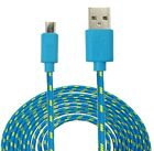 6FT 2M Braided Data Sync MICRO USB Charger Cable FOR Samsung S Lg Sony Nokia htc
