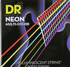 DR Neon Hi Definition Multicolour Electric Guitar Strings, Luminescent Hi-Def