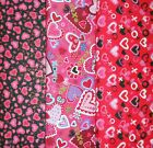 VALENTINES #2 Fabrics, Sold Individually, Not As a Group, By The Half Yard