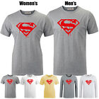 Melting Superman Marvel Superhero Fitness Pattern Long Short Sleeves T-shirt Tee