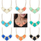 Lackingone Women's Crystal Choker Chain Pendant Statement Collar Necklace #gin1