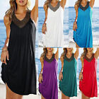 Sexy Women Summer Holiday Casual Boho Beach Dress Cocktail Evening Party Dresses