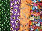 Clearance HALLOWEEN #2 Fabrics,Sold Individually,Not As a Group,By The Half Yard