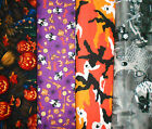 HALLOWEEN #1 Fabrics, Sold Individually, Not As a Group, By The Half Yard