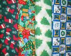 Clearance CHRISTMAS #5 Fabrics,Sold Individually,Not As a Group,By The Half Yard