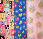 Clearance FLANNEL Fabrics #5,Sold Individually,Not As a Group,By The Half Yard