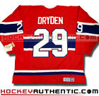 KEN DRYDEN MONTREAL CANADIENS 1971 JERSEY CCM VINTAGE RED