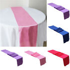 New Satin Table Runner Wedding Party Decorations Supplies 12