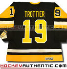 BRYAN TROTTIER PITTSBURGH PENGUINS 1992 JERSEY CCM VINTAGE BLACK