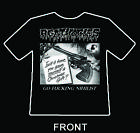 "AGATHOCLES ""nihilist short sleeve shirt spazz phobia rot dead infection"