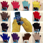 15 colors Magic Touch Screen Gloves Smartphone Texting Winter Knit Warm Mitts