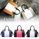 2015 Leather Womens Ladies Stitching Party Handbags Shoulder Messenger Bags