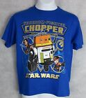Star Wars Boys Blue T-Shirt New Chopper Droid Officially Licensed $7.19 USD