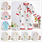 Newborn Baby Boy Clothes Cotton Romper Jumpsuit Outwear Embroidery Animal New