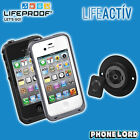 Genuine Lifeproof waterproof tough case for iPhone 4 4S + Lifeactiv Multi Mount