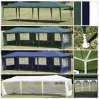 10'x30' Outdoor Canopy Tent Party Wedding Gazebo Pavilion Event with 5-Sidewalls