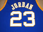 MICHAEL JORDAN LANEY HIGH SCHOOL JERSEY BLUE  NEW -   ANY SIZE XS - 5XL