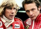 JAMES HUNT AND NIKI LAUDA 37 (FORMULA 1) PHOTO PRINT