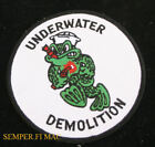 UDT Underwater Demolition Team PATCH US NAVY SEAL WW 2 KOREA VIETNAM PIN UP FROG