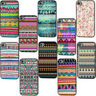 Tribal Stripe Retro For iPhone 4/4S/5/5G/5S/5C Hard Plastic Case Cover
