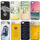 Infinity Anchor Beer Hard Plastic Case Back Cover For iPhone 4 4S 5 5G 5S 5C