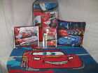NEW DISNEY PIXAR CARS 11 PC FULL OR 9 PC TWIN COMPLETE BED SET PILLOW RUG BORDER