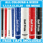 Golf Pride Tour Wrap 2G Grips ** FREE TAPE ** Any Size Core Colour or  Quantity