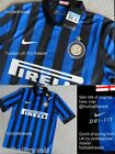 S L XL XXL NIKE INTER MILAN DRI-FIT Shirt Jersey football soccer calcio TAGS