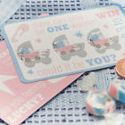 Tiny Feet Baby Shower Christening Party Scratch & Match Game x 10