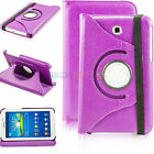 For Samsung Galaxy Tab 3 7.0 7 inch Tablet PU Leather Stand Rotating Case Covers