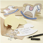 Rock-a-Bye Baby Shower Christening Party Invitations Invites x 10, 20, 30 & More