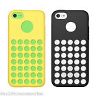 Apple iPhone 5C Case Ultra Thin Dot Hole Gel Jelly Cover Protective Back Shell
