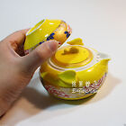 Peony Flower Red / Yellow Quik Cup Tea Set Convenient for Travel, Tea Holder Cup