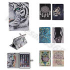 For Apple iPad Samsung Tablet Leather ID Card Wallet Stand Dirtproof Case Cover