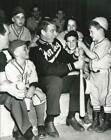 Baseball New York Yankees Joe Dimaggio with a Group of Kids  Photo Picture