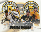 NHL Hockey Boston Bruins Bobby Orr & Ray Bourgue Photo Picture Print $159.95 USD on eBay