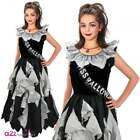 Zombie Prom Queen Halloween Dress + Sash Girls Sizes 8-10yrs; 11-13 yrs Slim Fit
