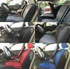 Auto Full Complete Set Seat Covers Front Bucket Airbag Safe Rear Split Bench 3K
