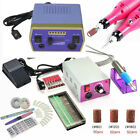New PROFESSIONAL ELECTRIC NAIL FILE DRILL Tools Pedicure Machine kit Set USA