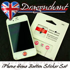 iphone ipad ipod Home button sticker earphone jack strap connector set