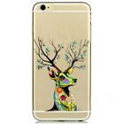 Hot selling Soft TPU Transparent Back Case Cover Skin For iPhone 5 5S 5C 6 6s