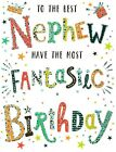 open nephew birthday card - 5 x cards to choose from