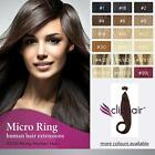 Finest Quality Micro Ring/ Micro Loop Bead Human Hair Extensions. 100% Remy Hair