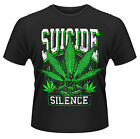 Suicide Silence 'Leaves Of Three' T-Shirt - NUOVO E ORIGINALE