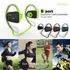 Bluetooth Headset Sport Stereo Headphone Earphone for iPhone Samsung LG Android