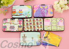 Cartoon Owls Credit Card Wallet Holder Cute Men Women Unisex Storage Case